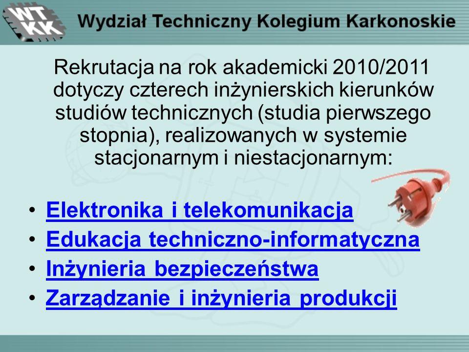 KAŻDY student podczas studiów i na miejscu może zdobyć Europejski Certyfikat Umiejętności Komputerowych ECDL w EuroKarkonoskim Ośrodku Egzaminacyjnym ECDL - akredytowanej przez instytucji ECDL działającej na Wydziale Technicznym.