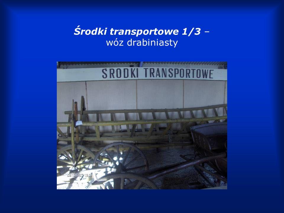 Środki transportowe 2/3 – rama wozu