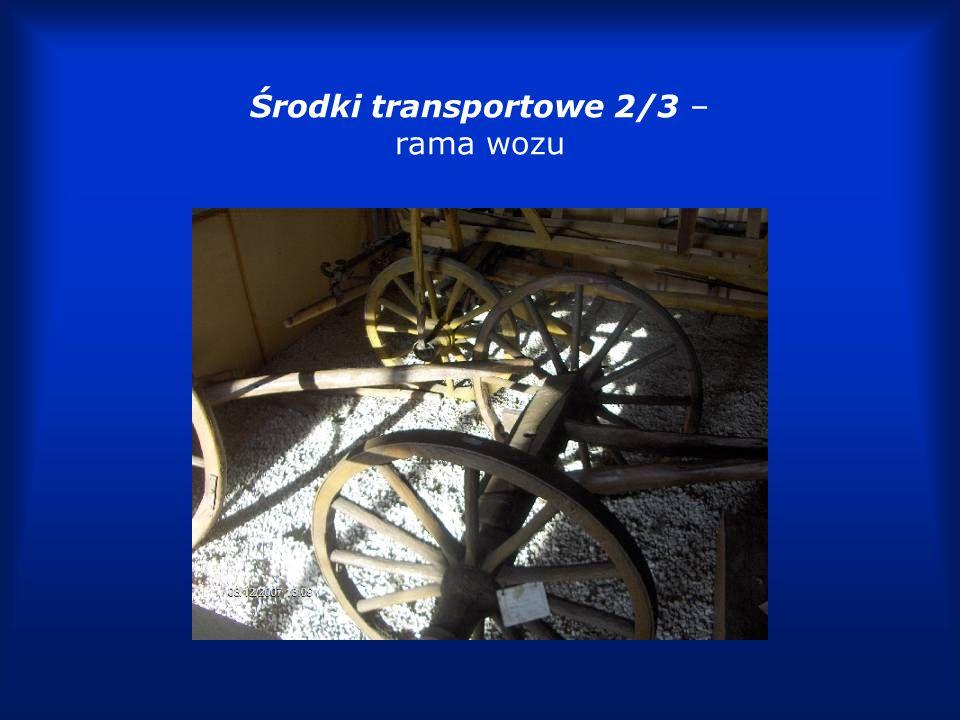 Środki transportowe 3/3 – sanie