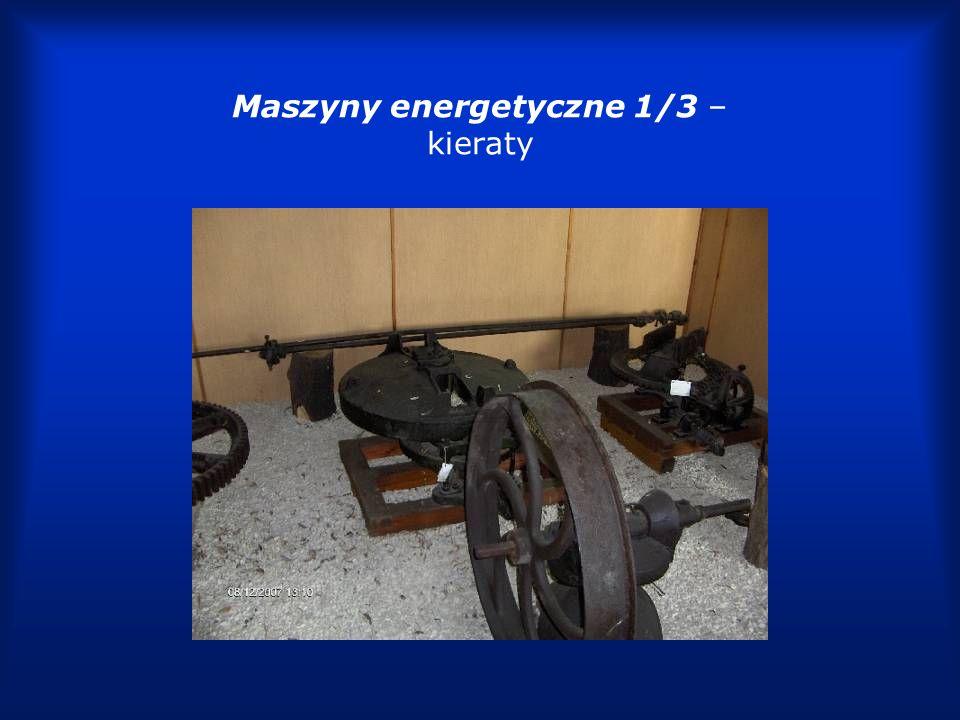 Maszyny energetyczne 2/3 – kieraty