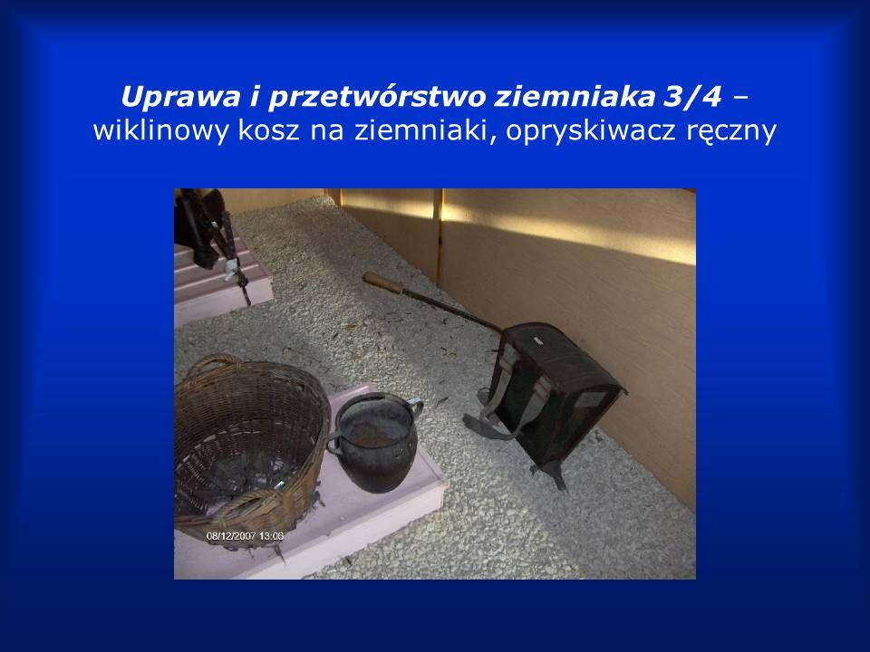 Uprawa i przetwórstwo ziemniaka 4/4 brony