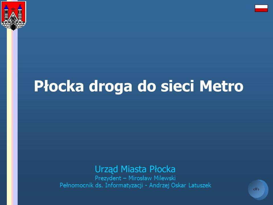 2 Agenda - Cele informatyzacji - E-samorząd - Płockie plany - Wybrane projekty IT - HOTSPOT - Sieć miejska - Nowoczesne miasto - Etapy realizacji - Proponowany model finansowy - Korzyści z realizacji przedsięwzięcia - Perspektywy regionu