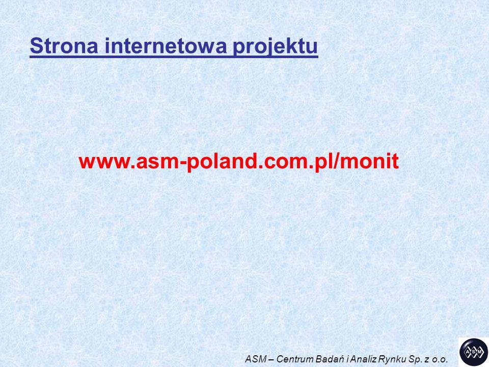 www.asm-poland.com.pl/monit Strona internetowa projektu