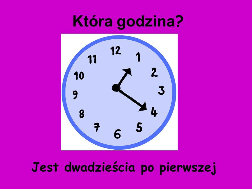 Jest dziesięć po ósmej Która godzina ?