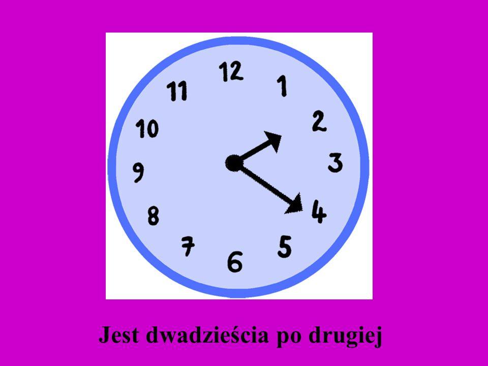 Która godzina ?