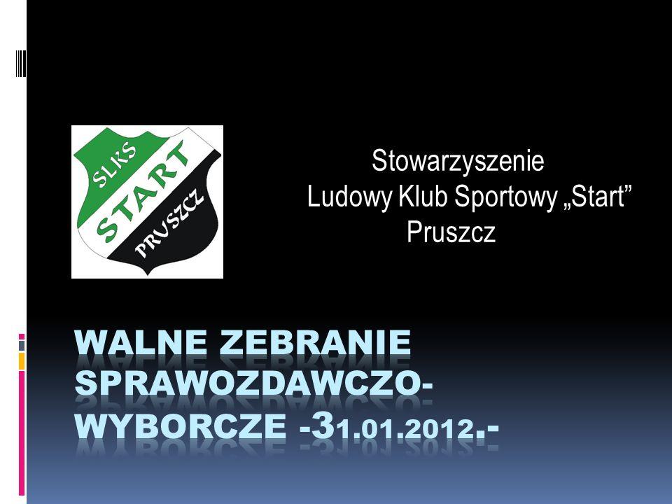 Stowarzyszenie Ludowy Klub Sportowy Start Pruszcz