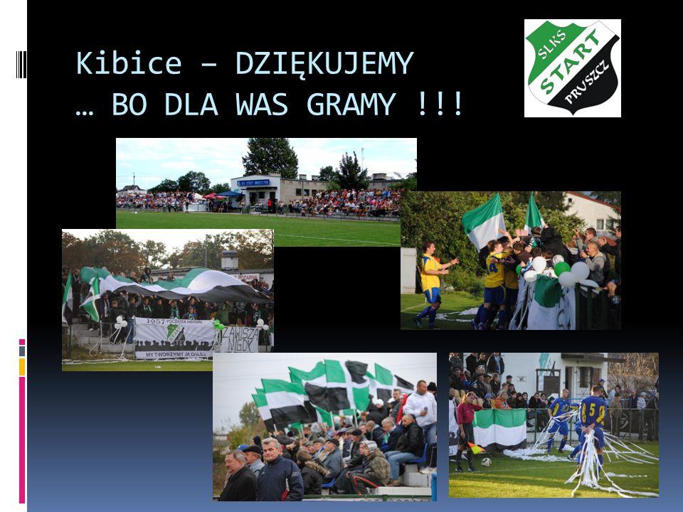 Kibice – DZIĘKUJEMY … BO DLA WAS GRAMY !!!