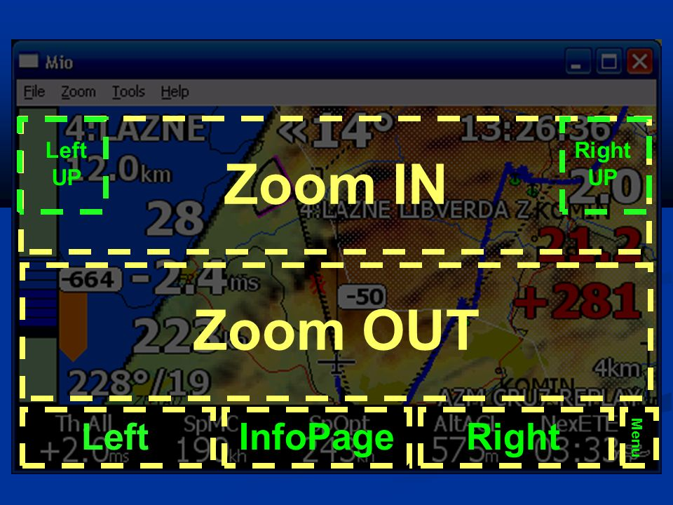 Loty po trasie 1/3 Przygotowanie lusterka Ustawić mapę oraz opcjonalnie PZty i strefy (Setup System 1) Ustawić mapę oraz opcjonalnie PZty i strefy (Setup System 1) Ustawić dane szybowca (Setup System 7) Ustawić dane szybowca (Setup System 7) Ustawić dane dla loggera (Setup System 20) Ustawić dane dla loggera (Setup System 20)