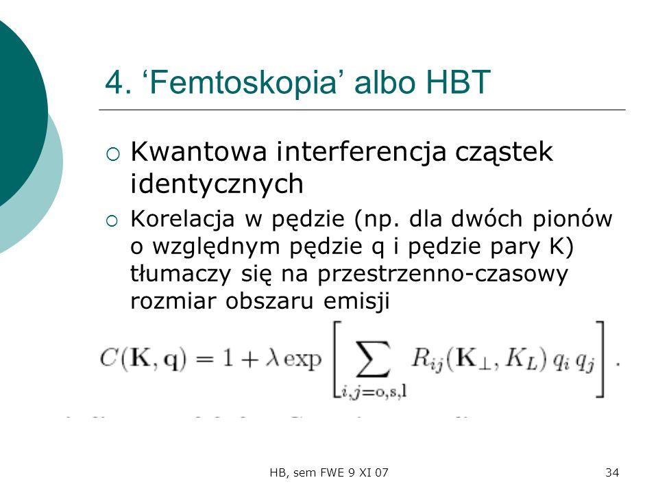 HB, sem FWE 9 XI 0734 4.