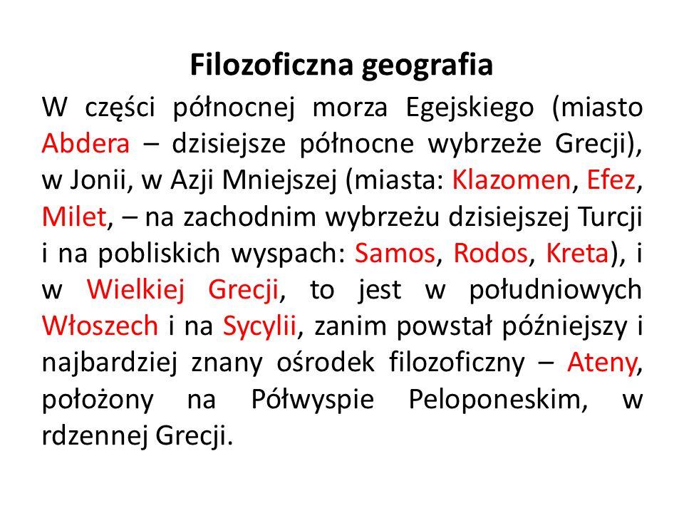 Pojęcie filozofii Pitagorasa (ok.