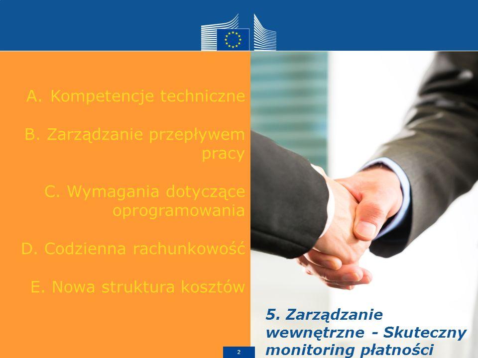 A.Kompetencje techniczne B. Zarządzanie przepływem pracy C.
