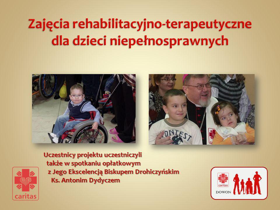 Uczestnicy projektu uczestniczyli także w spotkaniu opłatkowym z Jego Ekscelencją Biskupem Drohiczyńskim Ks. Antonim Dydyczem