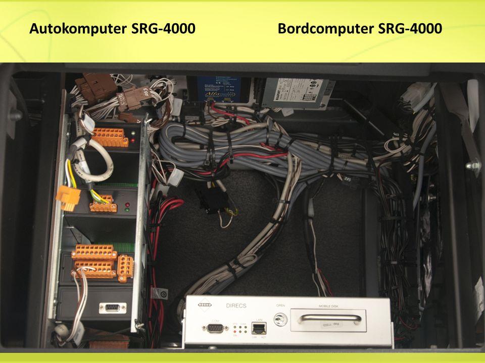 Autokomputer SRG-4000Bordcomputer SRG-4000