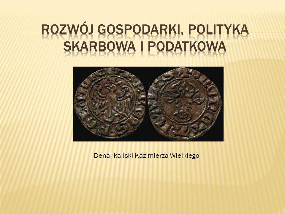 Denar kaliski Kazimierza Wielkiego