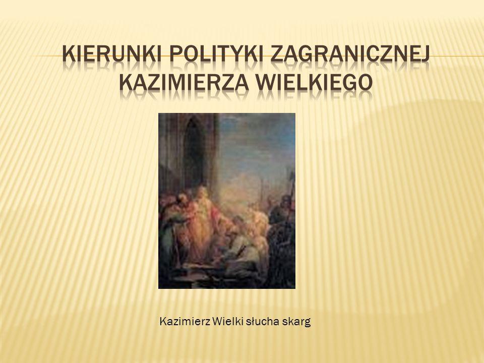Kazimierz Wielki słucha skarg