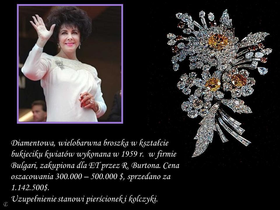 Da - Ma Kolczyki - wisiorki oszacowane 450.000 – 550.000 $, sprzedano za 1.650.500 $.