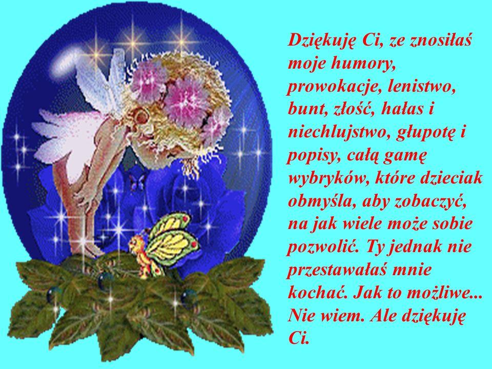 W kalendarzu Święto Matki z życzeniami śpieszą dziatki. Ja Ci mamo dziś w podzięce za Twe trudy daje serce i przepraszam za me psoty, za wybryki i kło