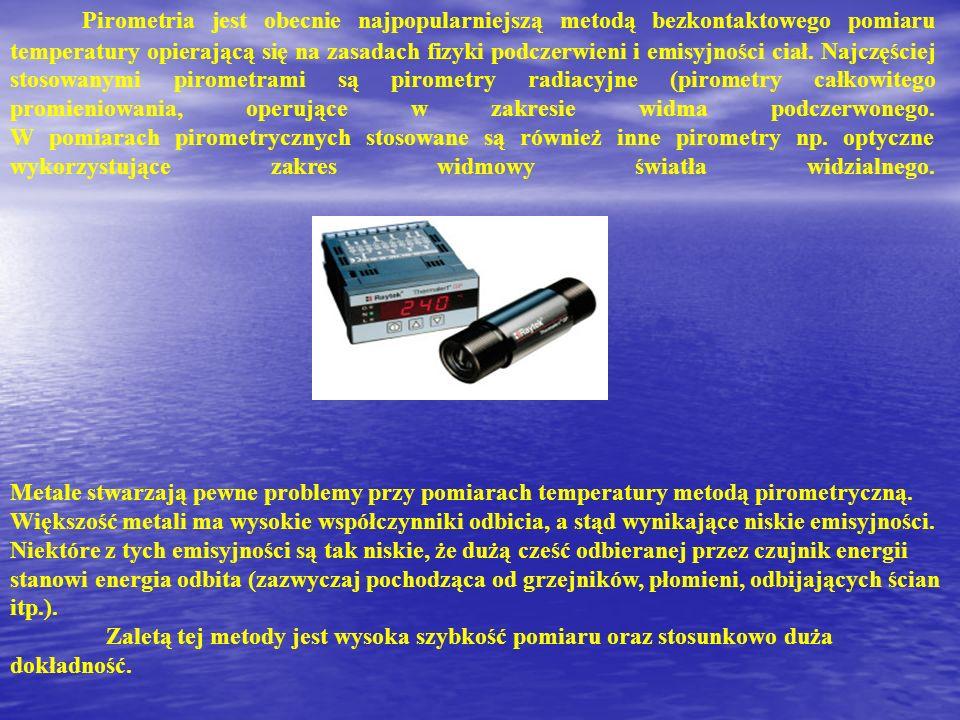 Wykonanie pomiarów przy użyciu kamery termowizyjnej Kamera termowizyjna przetwarza w sygnał elektroniczny promieniowanie temperaturowe pochodzące od obserwowanego obiektu.