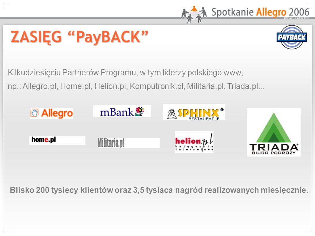 Kilkudziesięciu Partnerów Programu, w tym liderzy polskiego www, np.: Allegro.pl, Home.pl, Helion.pl, Komputronik.pl, Militaria.pl, Triada.pl... Blisk