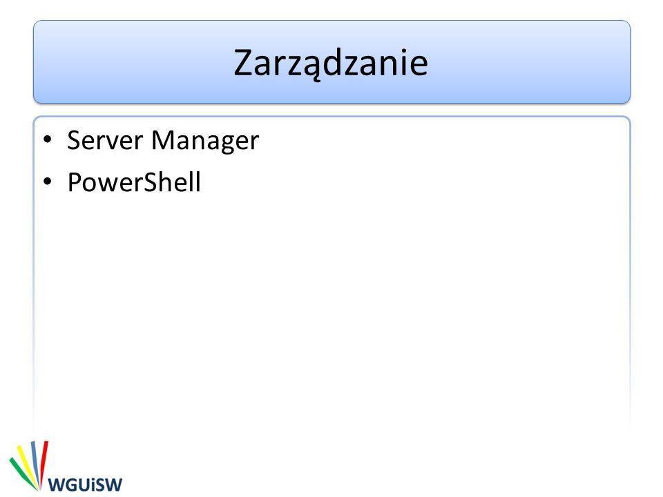 Zarządzanie Server Manager PowerShell
