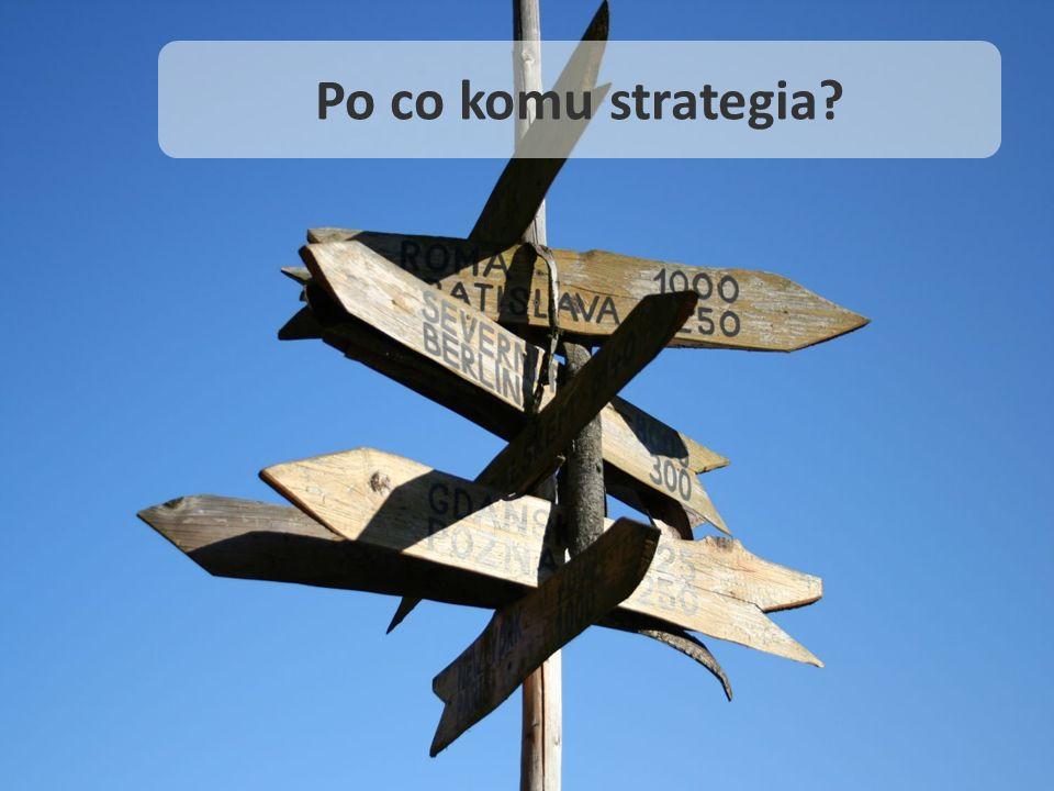 Po co komu strategia?