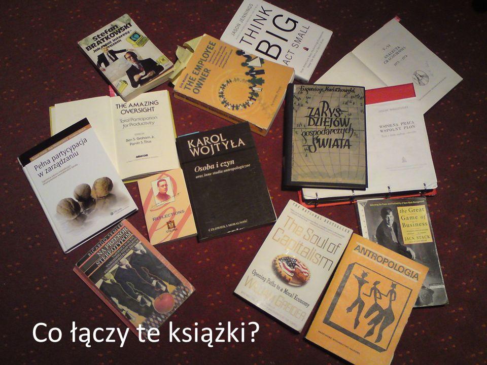 Co łączy te książki?