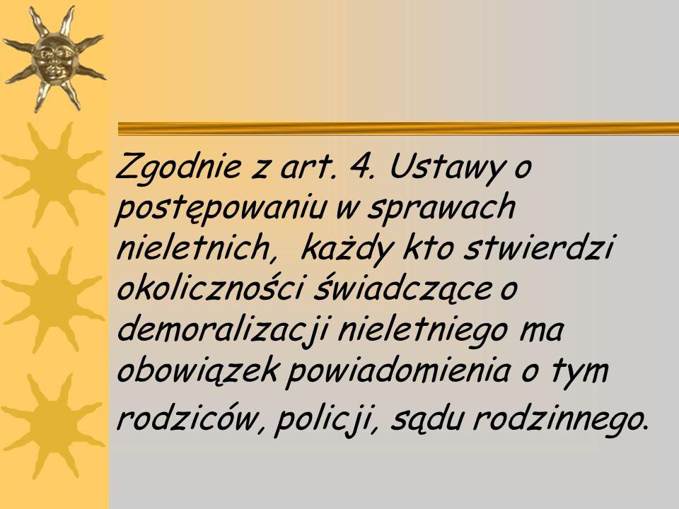Zgodnie z art.4.