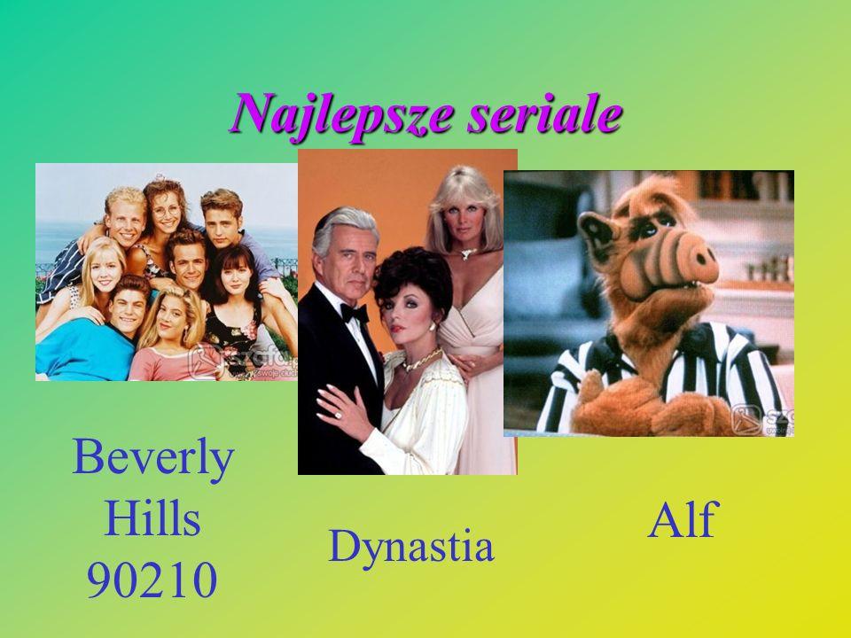 Najlepsze seriale Beverly Hills 90210 Dynastia Alf