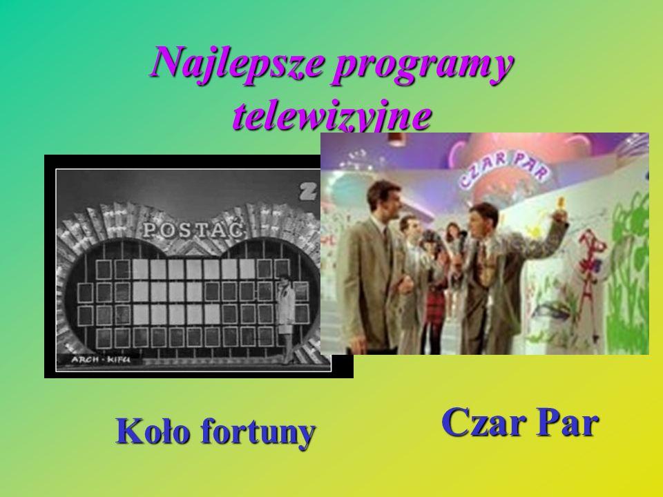 Najlepsze programy telewizyjne Koło fortuny Czar Par