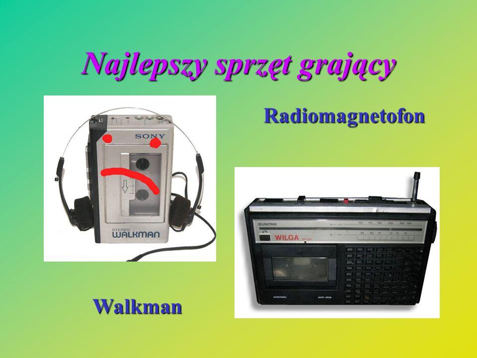 Najlepszy sprzęt grający Walkman Radiomagnetofon