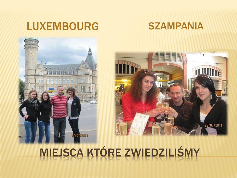 LUXEMBOURG SZAMPANIA