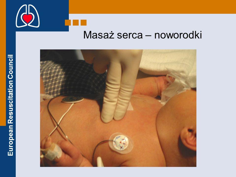 European Resuscitation Council Masaż serca – noworodki