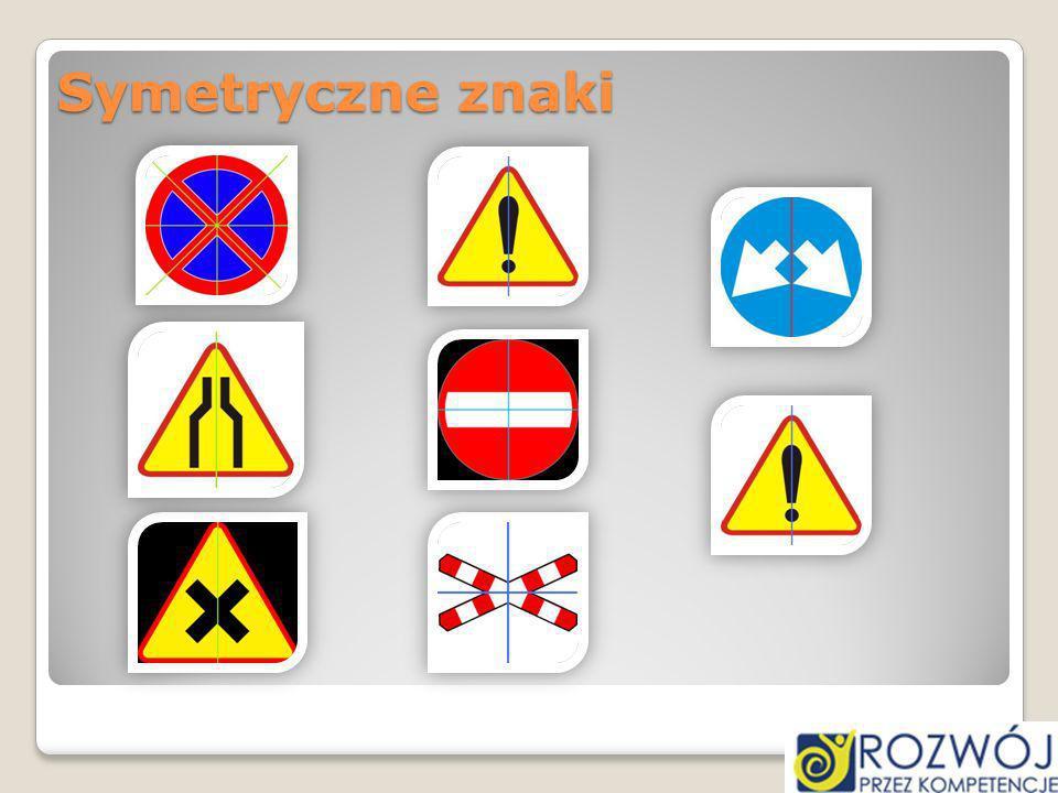 Symetryczne znaki