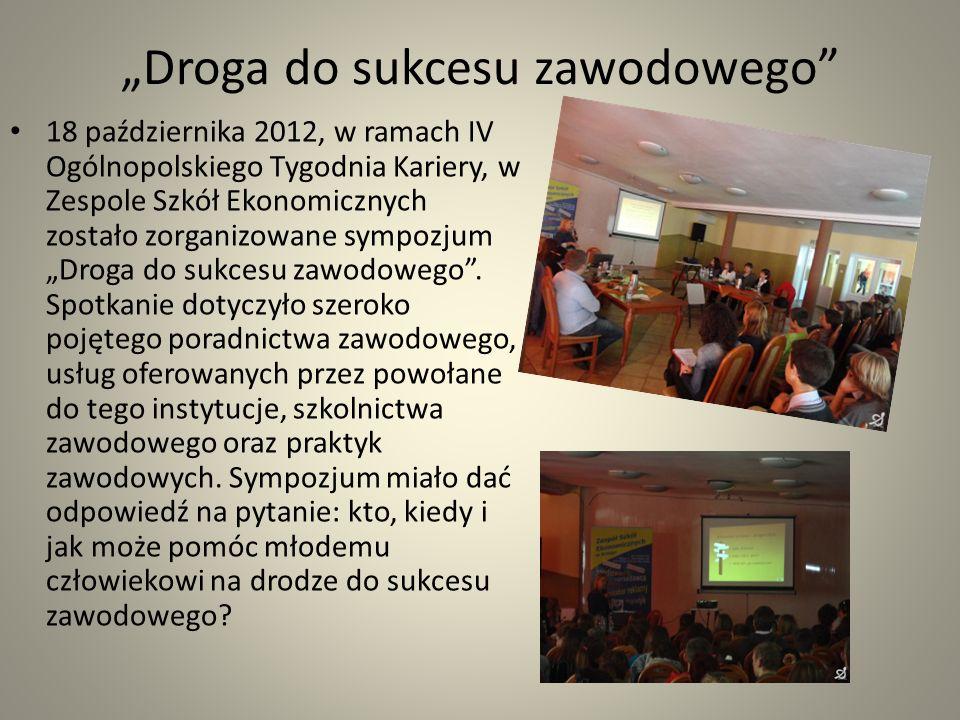 Zapoznanie z zasadami autoprezentacji W marcu pani pedagog Magdalena Kamion zapoznała uczestników projektu z zasadami autoprezentacji.
