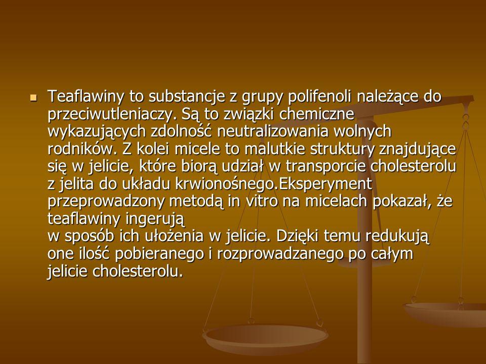 Teaflawiny to substancje z grupy polifenoli należące do przeciwutleniaczy. Są to związki chemiczne wykazujących zdolność neutralizowania wolnych rodni