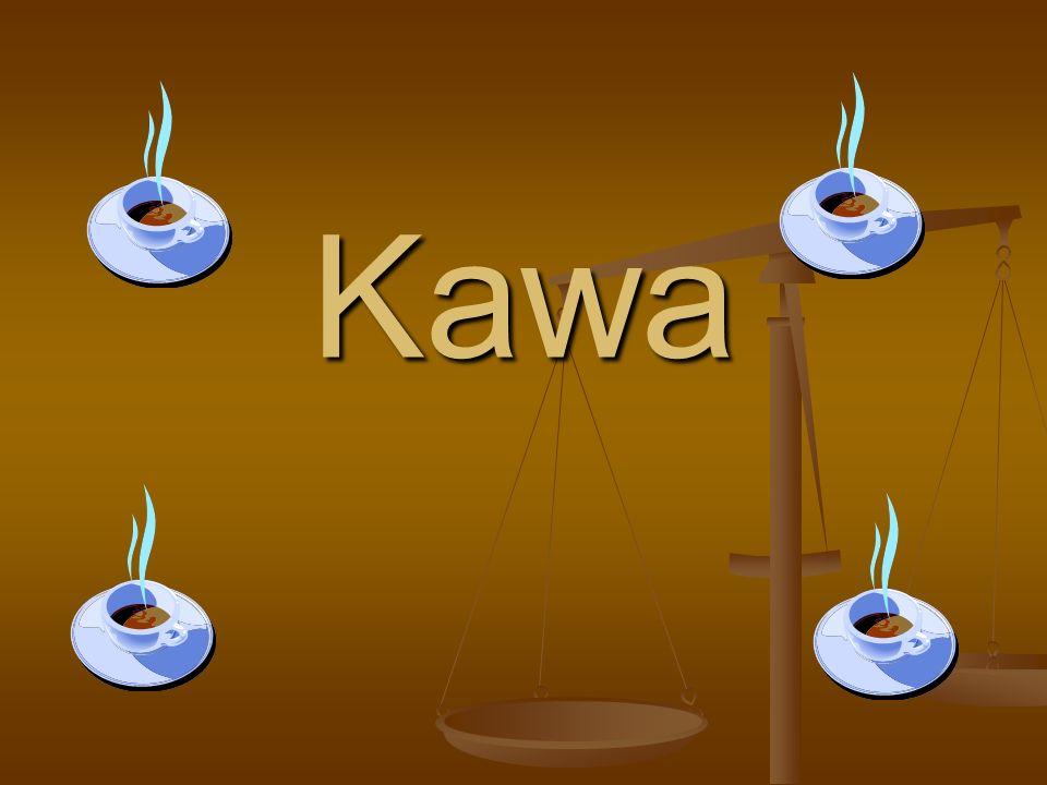Historia kawy Kawa jest znana ludzkości od tysięcy lat, a sama pochodzi z Afryki.