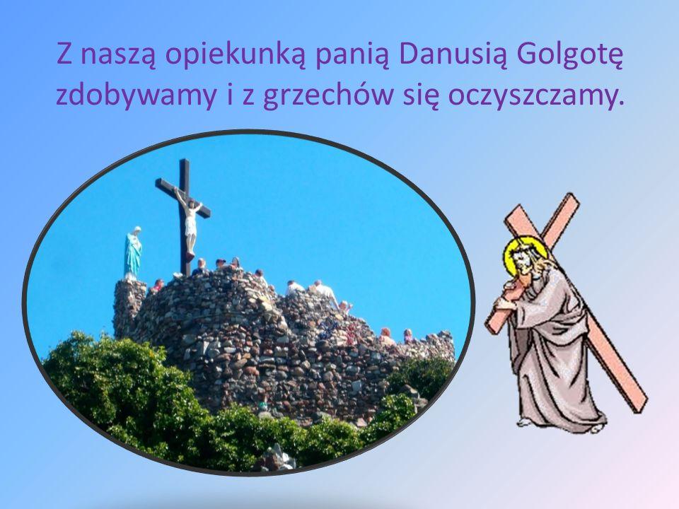 Brama Klasztorna, Krzywa Wieża, w której legendę nikt nie dowierza, więc sprawdzać przewodnika uczestnik wycieczki zamierza.