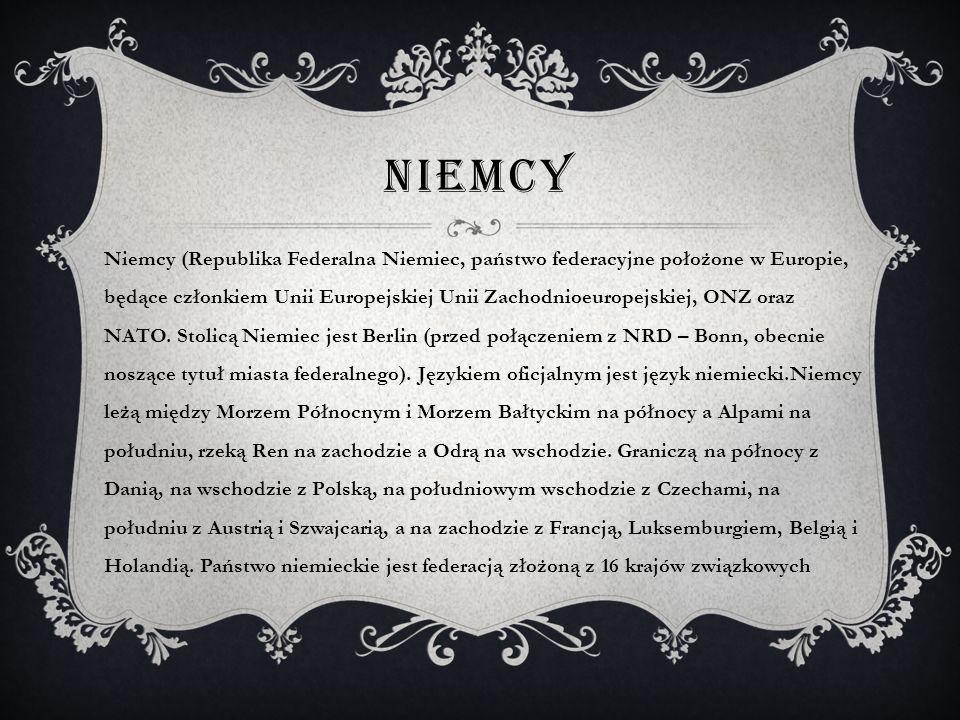 GERMANY Państwo niemieckojęzyczne