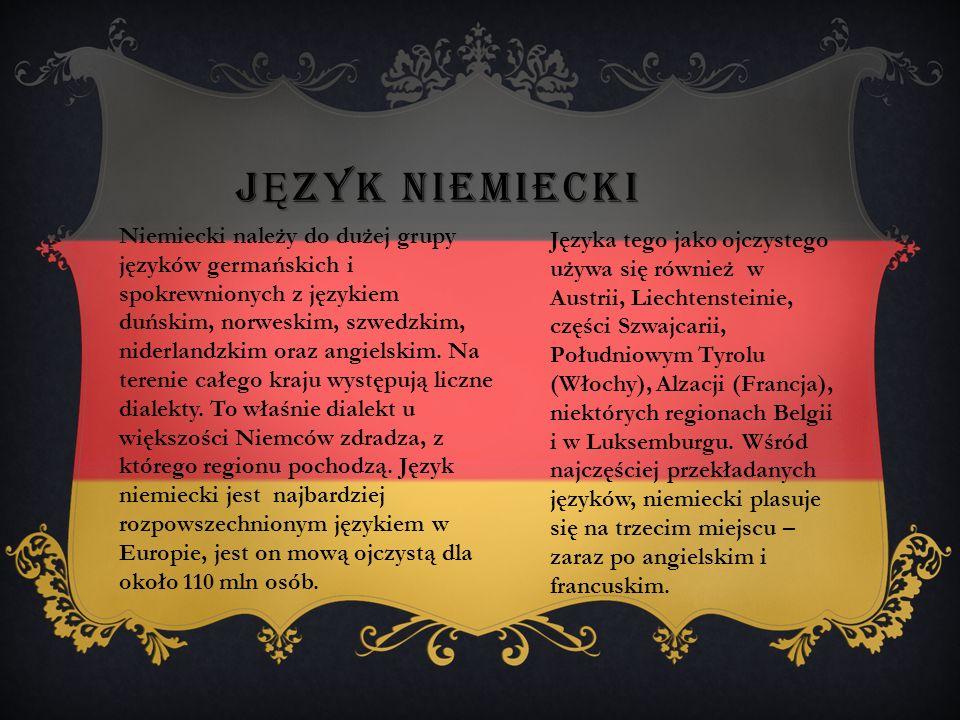 NIEMCY Niemcy (Republika Federalna Niemiec, państwo federacyjne położone w Europie, będące członkiem Unii Europejskiej Unii Zachodnioeuropejskiej, ONZ oraz NATO.