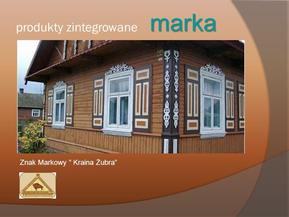 produkty zintegrowane marka Znak Markowy Kraina Żubra