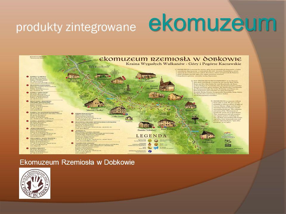 produkty zintegrowane ekomuzeum Ekomuzeum Rzemiosła w Dobkowie