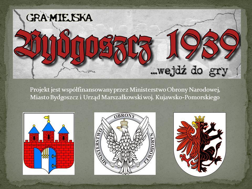 Projekt jest współfinansowany przez Ministerstwo Obrony Narodowej, Miasto Bydgoszcz i Urząd Marszałkowski woj.