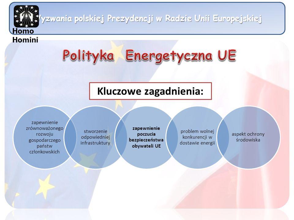 Wyzwania polskiej Prezydencji w Radzie Unii Europejskiej zapewnienie zrównoważonego rozwoju gospodarczego państw członkowskich stworzenie odpowiedniej
