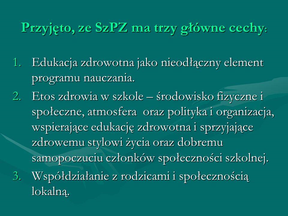 W Polsce koncepcja szkoły promującej zdrowie stale się rozwija.