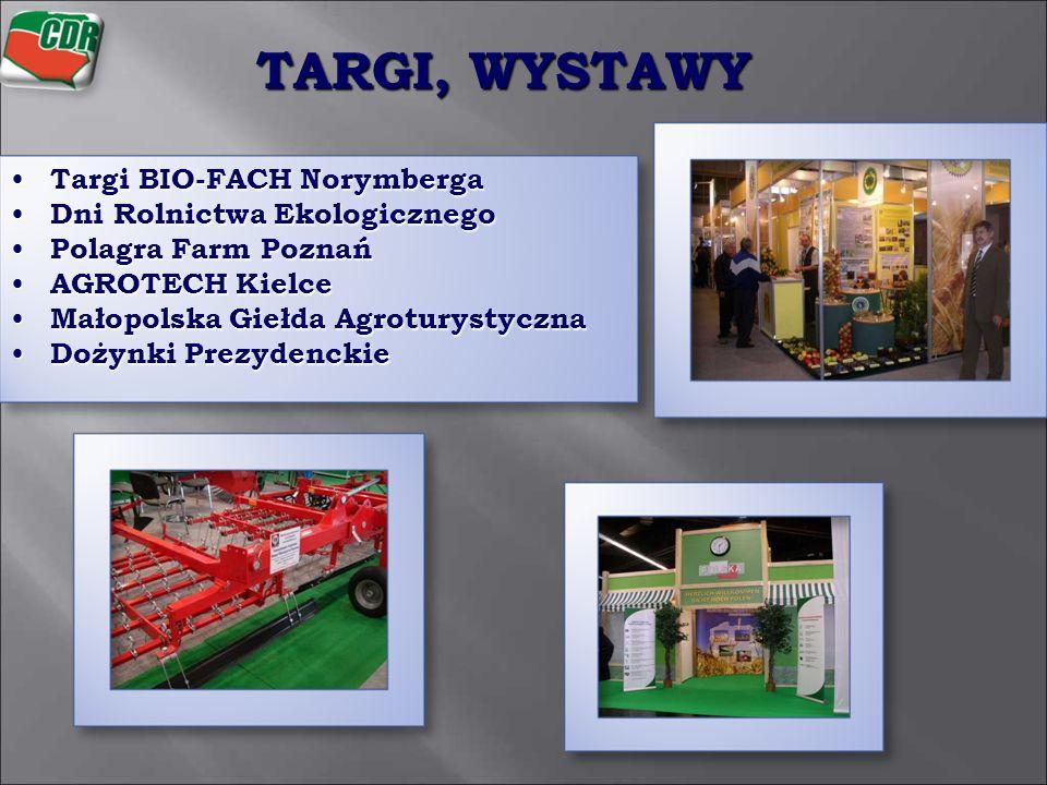 Targi BIO-FACH Norymberga Targi BIO-FACH Norymberga Dni Rolnictwa Ekologicznego Dni Rolnictwa Ekologicznego Polagra Farm Poznań Polagra Farm Poznań AG