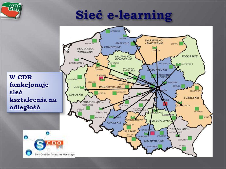 W CDR funkcjonuje sieć kształcenia na odległość