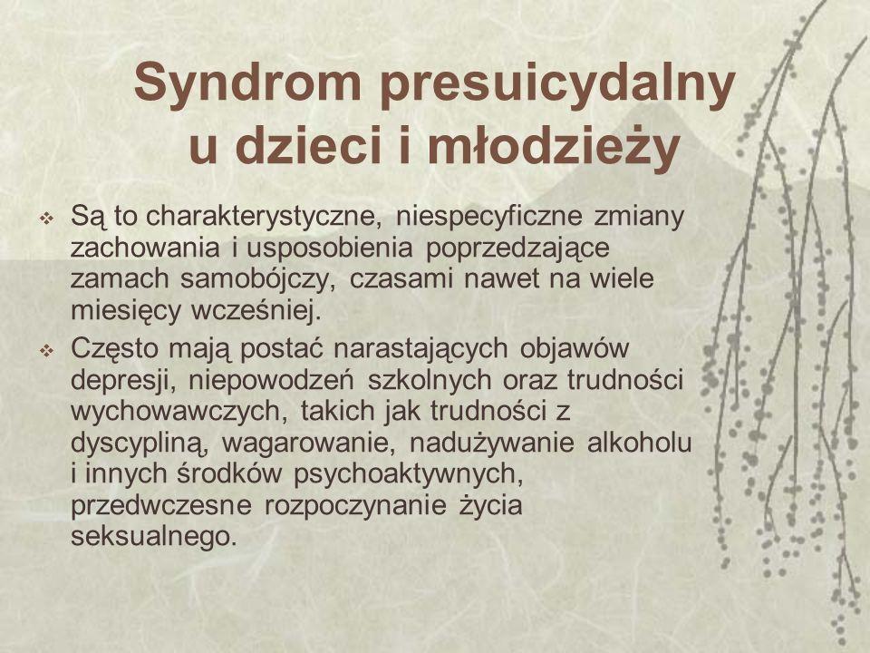 Syndrom presuicydalny 1.