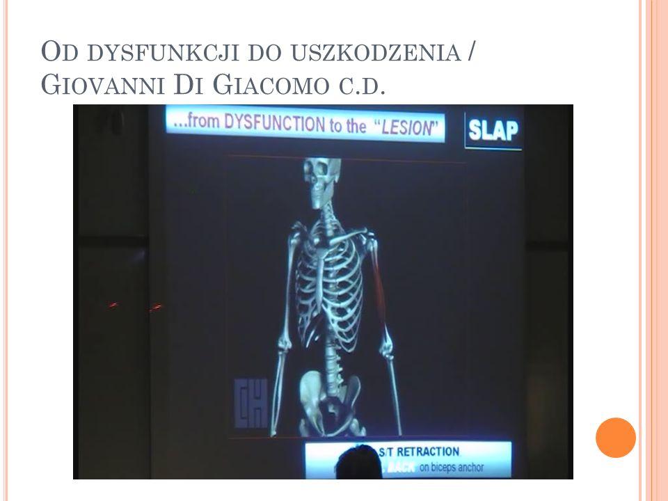 O D DYSFUNKCJI DO USZKODZENIA / G IOVANNI D I G IACOMO C. D.