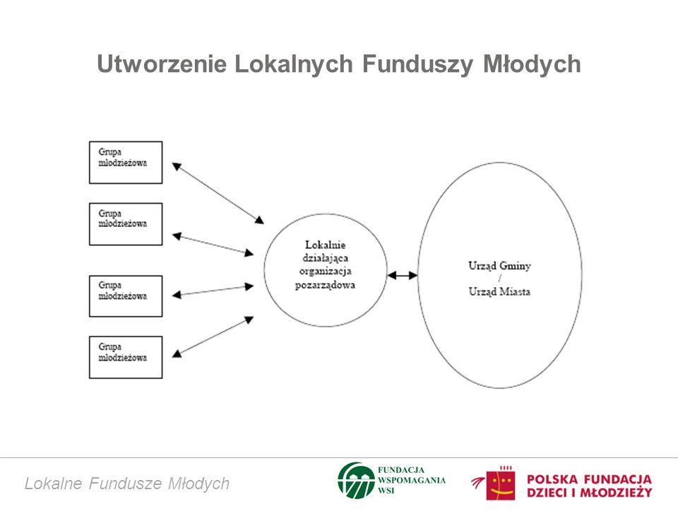 Utworzenie Lokalnych Funduszy Młodych Lokalne Fundusze Młodych
