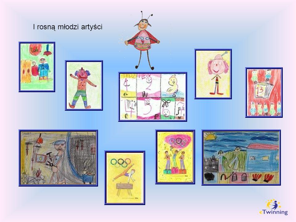 I rosną młodzi artyści